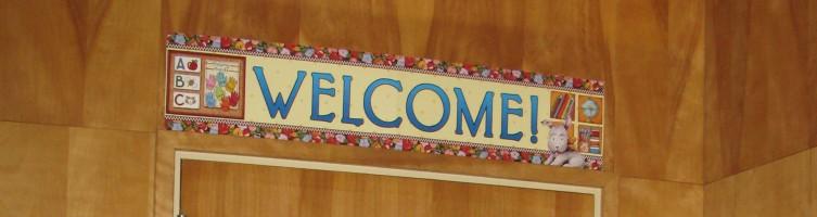 Welcome Classroom Door VP