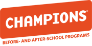 Champions logo with text: Before and After School Programs