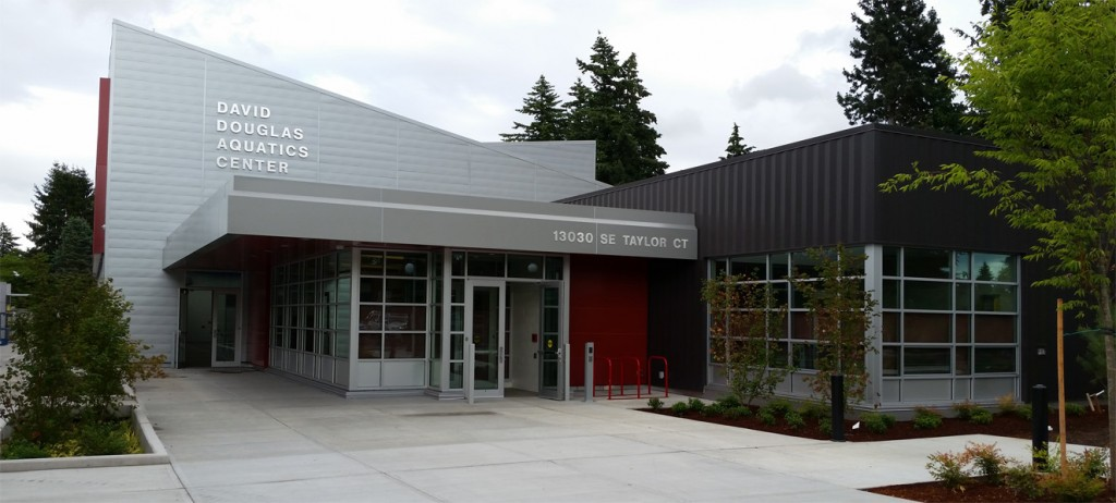 Exterior Photo of the DD Aquatics Center