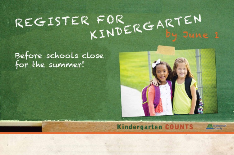 Kindergarten Registration Before June 1st