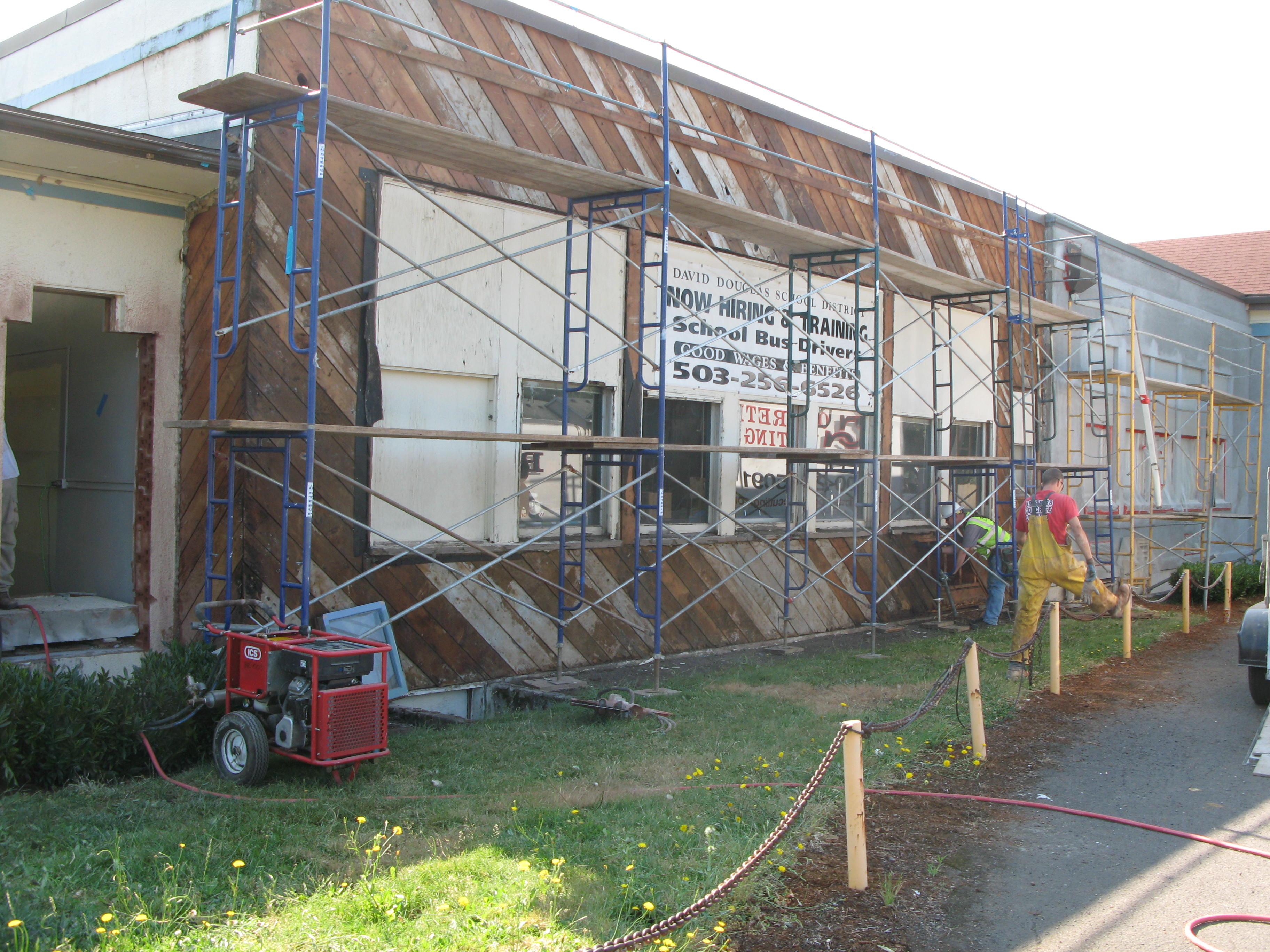 South Powellhurst Bond Construction 2013 David Douglas