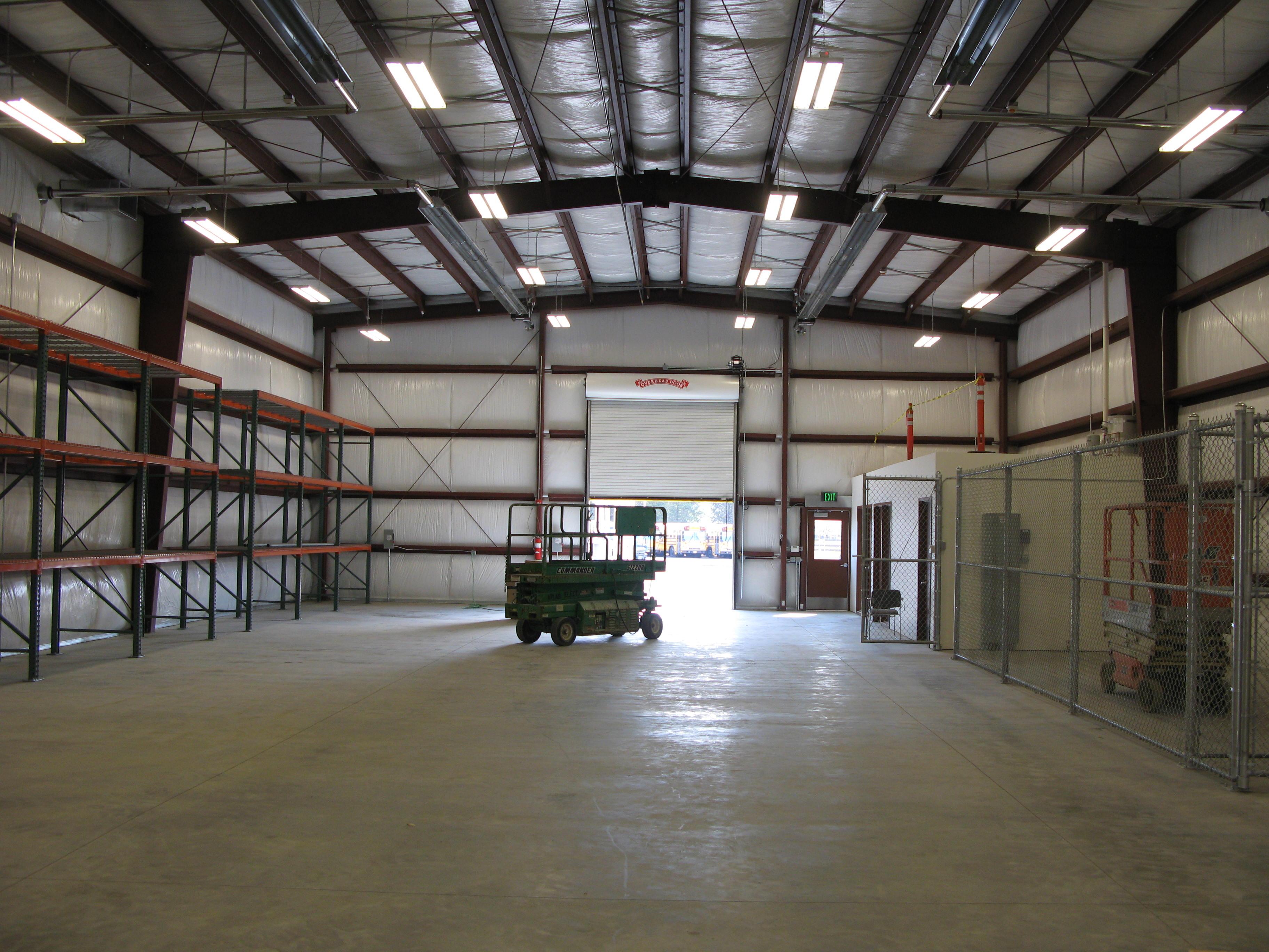 Bond Project: Warehouse Interior