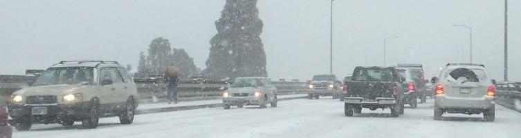 Snowy Road crop