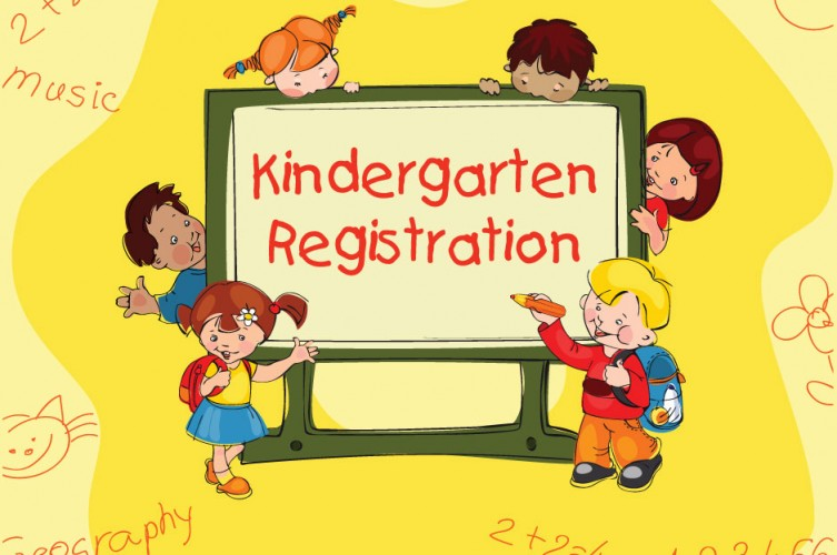 Kindergarten Registration banner