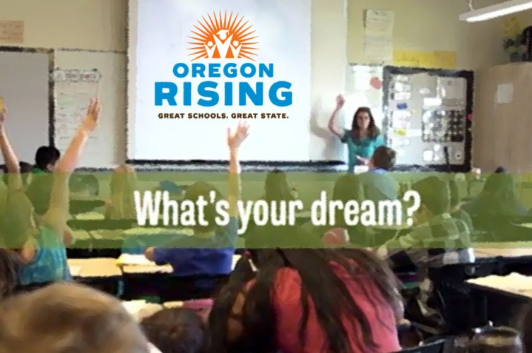 Oregon Rising Banner