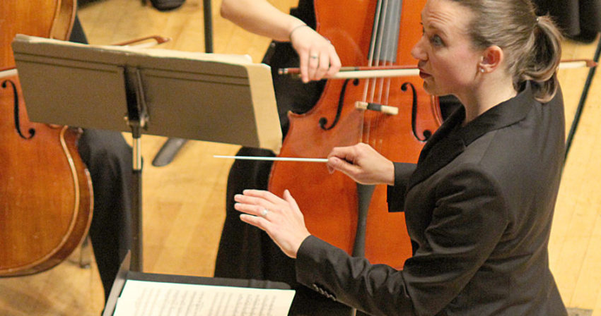 Jennifer Muller Conducting
