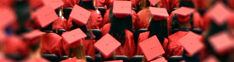 DDHS Graduates Caps Banner