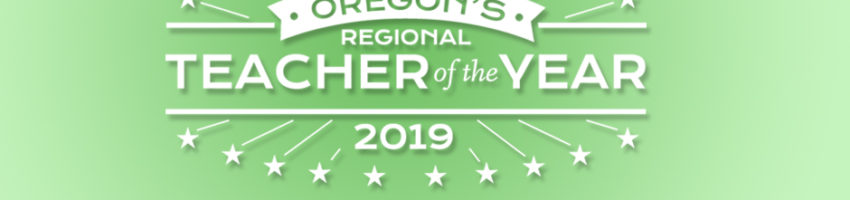 Oregon's Teacher of the Year Logo