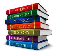 High School books graphic
