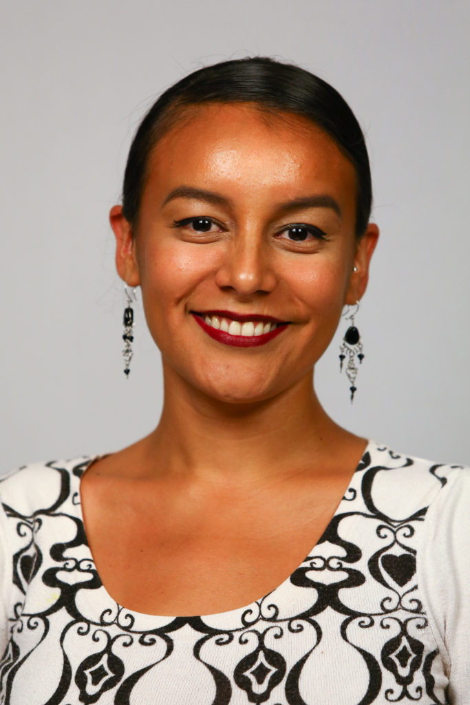 School Board Member Andrea Valderrama portrait