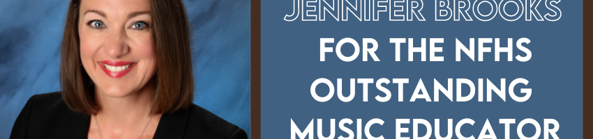 Photo of Jennifer with the text