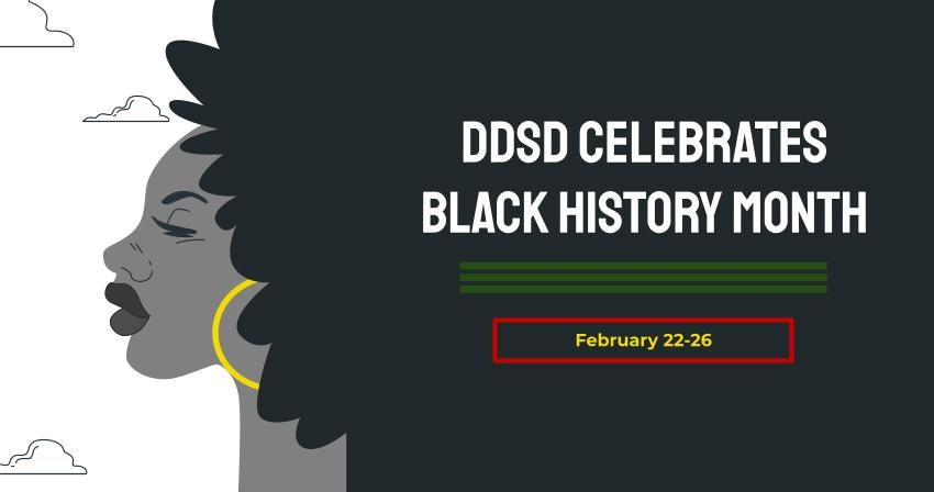 Black History Month Feb 22-26 Banner
