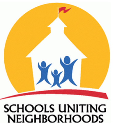 SUN Logo with the text Schools Uniting Neighborhoods