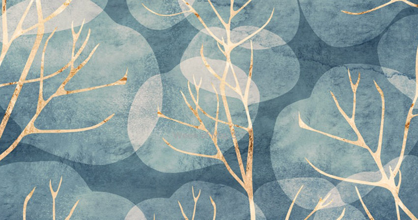 Patterned background image - tree branches